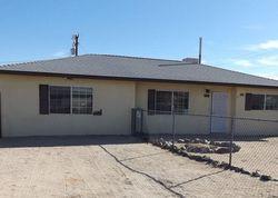 Foreclosure - Mariposa Ave - Twentynine Palms, CA