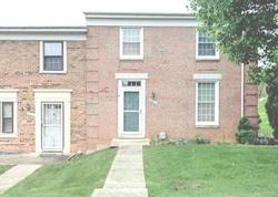 Foreclosure - Tumbleweed Run Apt G - Laurel, MD