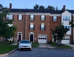 Foreclosure - Vanfleet Ct - Laurel, MD