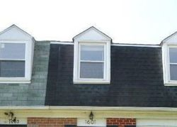 Foreclosure - Melby Ct - Parkville, MD